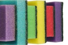 Esponja para el lavado de las mercancías Fotografía de archivo libre de regalías