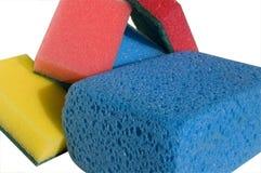 Esponja para o cleanin fotografia de stock