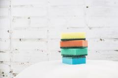 Esponja para pratos de lavagem Foto de Stock