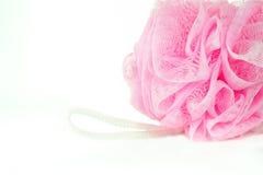 Esponja rosada Fotos de archivo