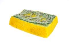 Esponja usada para limpar Imagens de Stock