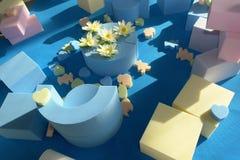 Esponjas coloridas Imagem de Stock