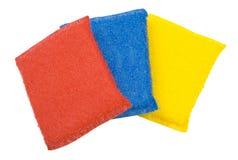Esponjas da cozinha Imagem de Stock
