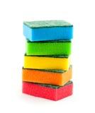 Esponjas da limpeza Imagem de Stock