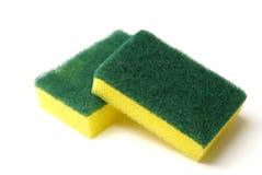 Esponjas da limpeza Imagens de Stock