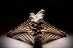 Esponjas de algodón Imágenes de archivo libres de regalías