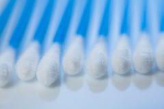 Esponjas de algodón Fotografía de archivo