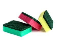 Esponjas para lavarse Imagenes de archivo