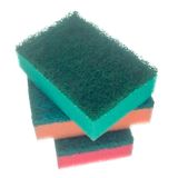 Esponjas para pratos de lavagem. fotos de stock