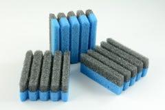 Esponjas sulcadas da grade Imagem de Stock
