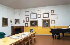 Espoo finland O interior do museu de Akseli Gallen-Kallela Fotografia de Stock Royalty Free