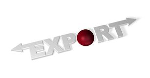Esportazione Fotografia Stock