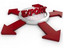esportazione illustrazione vettoriale
