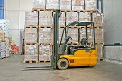 Esportazione di Forklifter Fotografia Stock