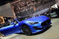 Esporte 2012 de Maserati Granturismo da mostra de motor de Genebra Imagem de Stock