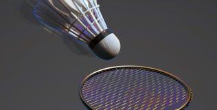 Esporte abstrato do badminton Fotografia de Stock Royalty Free