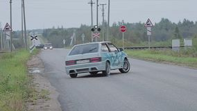 Esporte automóvel extremo vídeos de arquivo