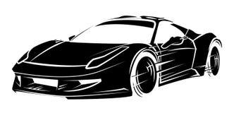Esporte car Imagem de Stock Royalty Free