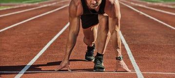 esporte corredor Fotografia de Stock Royalty Free