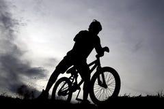 Esporte da bicicleta Fotografia de Stock Royalty Free
