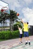 Esporte da família Foto de Stock Royalty Free