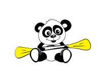 Esporte da panda Imagem de Stock