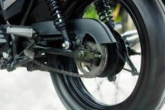 Esporte da roda da motocicleta que corre rapidamente Fotos de Stock