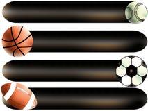 Esporte das esferas Fotografia de Stock Royalty Free