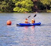 Esporte de barco de Windermere Imagem de Stock