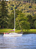 Esporte de barco de Windermere Fotografia de Stock