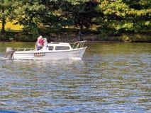 Esporte de barco de Windermere Foto de Stock Royalty Free