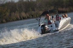 Esporte de barco do prazer Imagens de Stock Royalty Free