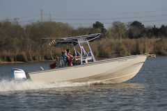Esporte de barco do prazer Fotos de Stock Royalty Free