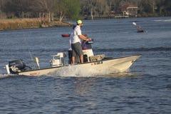 Esporte de barco do prazer Fotografia de Stock