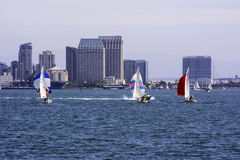 Esporte de barco em Califórnia Imagens de Stock Royalty Free