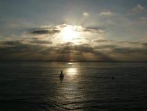 Esporte de barco em San Diego Fotografia de Stock Royalty Free