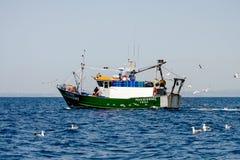Esporte de barco na costa do Algarve, Portugal Imagens de Stock Royalty Free