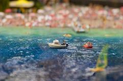 Esporte de barco na praia Imagem de Stock