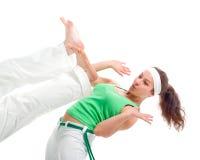 Esporte de contato. Capoeira Fotografia de Stock Royalty Free