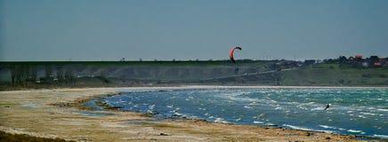 Esporte de salto de paraquedas Fotografia de Stock