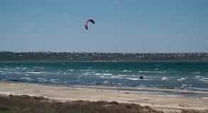 Esporte de salto de paraquedas Fotografia de Stock Royalty Free