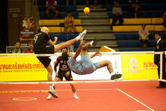Esporte de Sepaktakrew. Fotografia de Stock