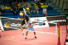 Esporte de Sepaktakrew. Fotos de Stock