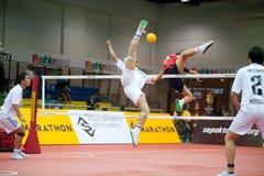 Esporte de Sepaktakrew. Fotografia de Stock Royalty Free