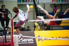 Esporte de Sepaktakrew. Imagens de Stock
