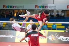 Esporte de Sepaktakrew. Foto de Stock