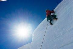 Esporte do alpinismo foto de stock royalty free