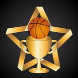 Esporte do basquetebol Foto de Stock Royalty Free