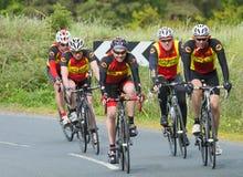 Esporte do ciclismo de Amatuer do inglês Foto de Stock