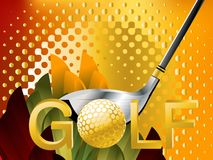 Esporte do golfe Fotos de Stock Royalty Free